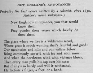 American poetry_1st verse