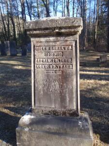 Abigail Andrews tombstone