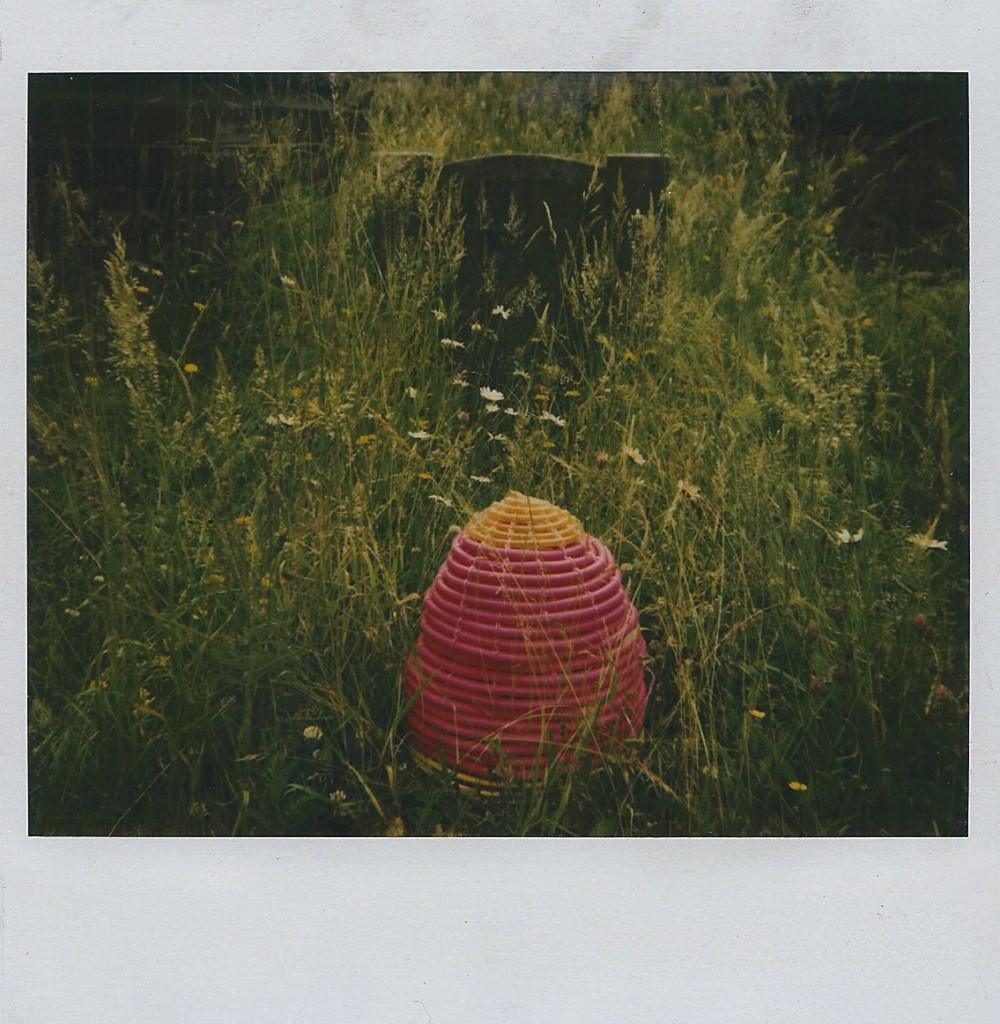 Mrs. Beeton's Grave. Collaboration Brece Honeycutt (sculpture) & Vit Hopley (photography), Polaroid, 1994