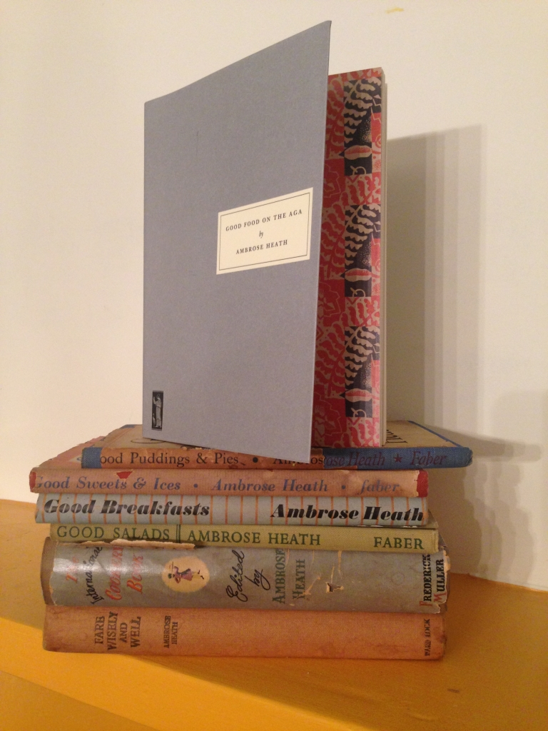 my collection of Ambrose Heath books